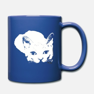 White Tiger Sneaky Design by Chapy - Full Color Mug
