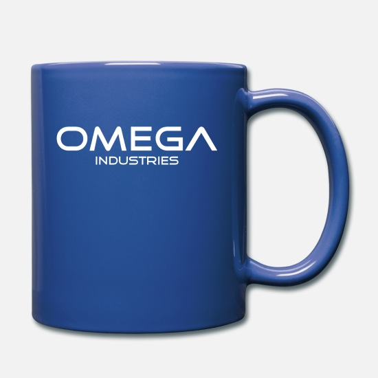 Omega Mugs & Drinkware - OMEGA Industries - America - Flag - USA - Pride - Full Color Mug royal blue