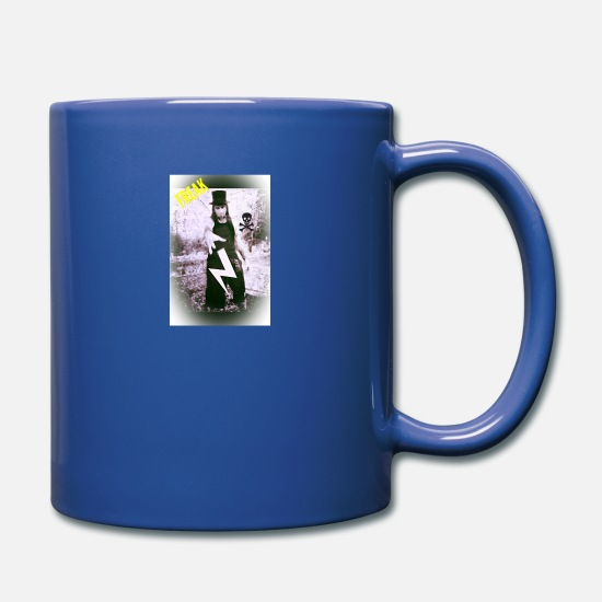 Freak Mugs & Drinkware - Freak - Full Color Mug royal blue