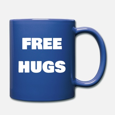 Hugs Free Hugs - Full Color Mug