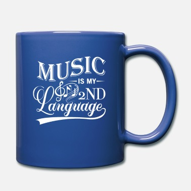 Dream Music is my 2nd Language - sound notes - Full Color Mug