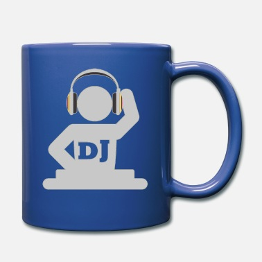 Disk Jockey DJ Disk Jockey - Full Color Mug