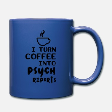 Psyche Psychologist Psychotherapist Psych Report - Full Color Mug