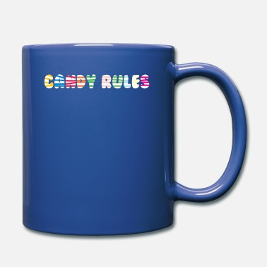Candy Candy Rules Candy Lolli Candy - Full Color Mug