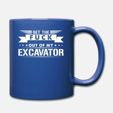 Crawler Excavator shirt Out of my excavator - Full Color Mug