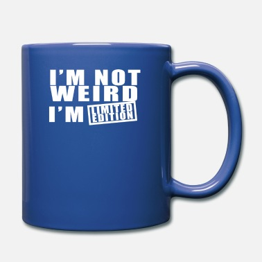 Note Clue i m not weird i m limited edition - Full Color Mug