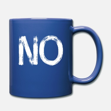 no anti demo big statement - Full Color Mug