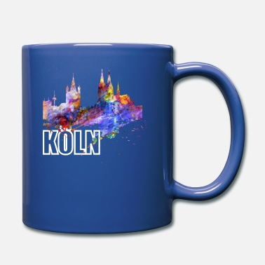 North Rhine-westphalia Cologne Skyline North Rhine Westphalia Cathedral - Full Color Mug