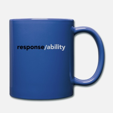 response/ability - Full Color Mug
