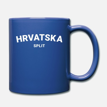Hrvatica From Croatia With Love - Hrvatska Split white - Full Color Mug