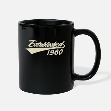 Old Established 1960 Cool 60th Birthday Gift Men Women - Full Color Mug
