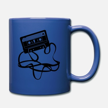 cassette audio tape - Full Color Mug