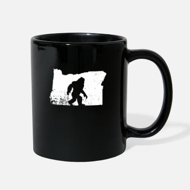 Foot Bigfoot Sasquatch Sighted In State Of Oregon - Full Color Mug