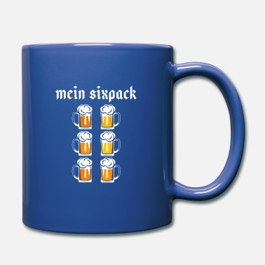 Munich Mein Sixpack Oktoberfest Beer Mug Drinking - Full Color Mug