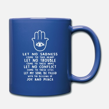 Hamsa Prayer Shirt - Full Color Mug