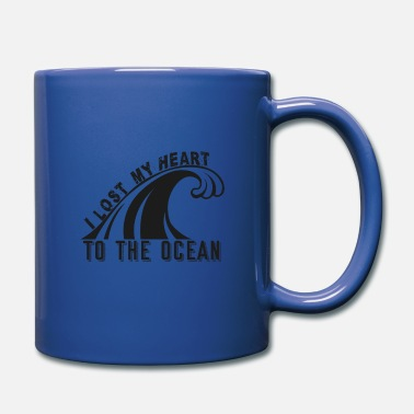 Wave Iconic Saying for Surfers - Ocean Waves Surfing - Full Color Mug
