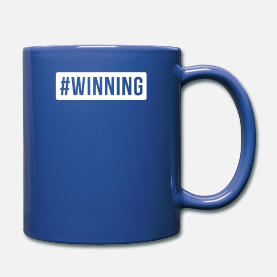 Printed Mugs & Drinkware - WINNING PRINTED - Full Color Mug royal blue