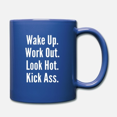 Work Out WAKE UP WORK OUT - Full Color Mug