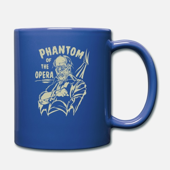 Opera Mugs & Drinkware - Phantom Of The Opera - Full Color Mug royal blue