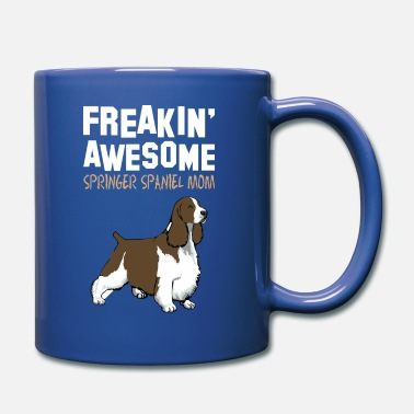 Springer Spaniel Mom Freaking Awesome Springer Spaniel Mom - Full Color Mug