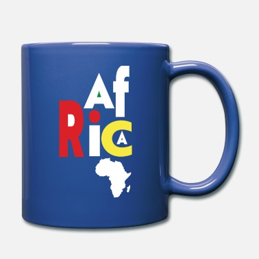 Africa Map Love Africa With Africa Map African Pride - Full Color Mug