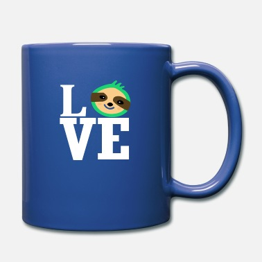 Animal Love Love love sloth animal love animal-loving animal - Full Color Mug