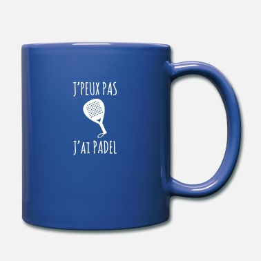 I can not I Padel - Full Color Mug