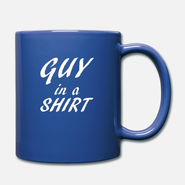 Sex Bomb Guy in a Shirt - White - Full Color Mug