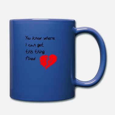 broken heart fix - Full Color Mug