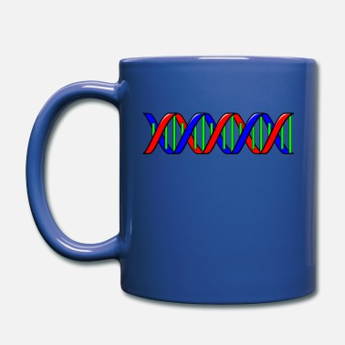 Curlicue Double helix - Full Color Mug