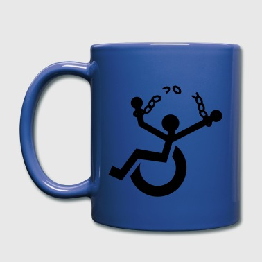 against ableism - Full Color Mug