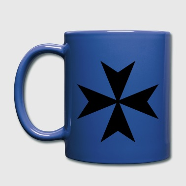 Maltese cross - Full Color Mug