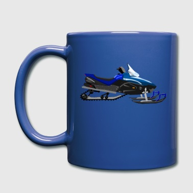 Snowmobile - Full Color Mug