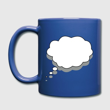 Speech bubble - Full Color Mug