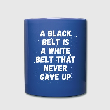 Jiu Jitsu Black / White belt Martial Arts T Shirt - Full Color Mug