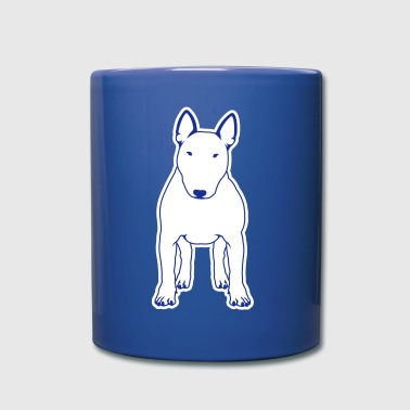 Bull Terrier FRONT white - Full Color Mug