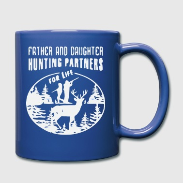 Hunting Shirt Men Father and Daughter - Full Color Mug