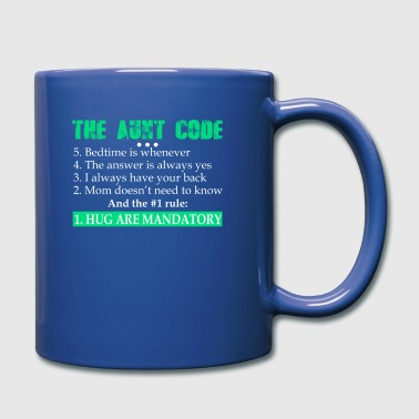 Aunt Code Answer Yes Hug Are Mandatory - Full Color Mug