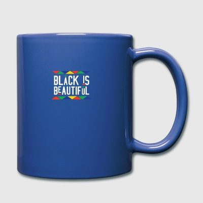 Black Is Beautiful (White Letters) - Full Color Mug