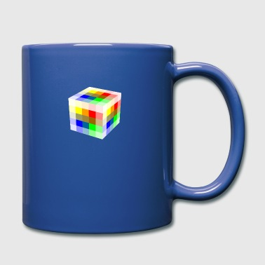 Multi Colored Cube - Full Color Mug