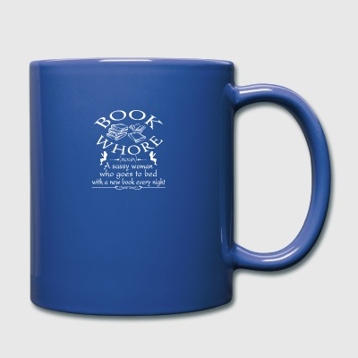 Book Whore Tee Shirt - Full Color Mug