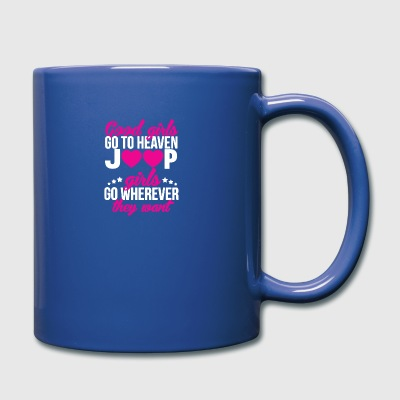 Jeep Girls Go Wherever Yhe Hell They Want T Shirt - Full Color Mug