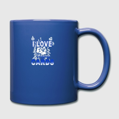I Love Playing Cards Shirt - Full Color Mug