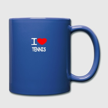 I LOVE TENNIS - Full Color Mug