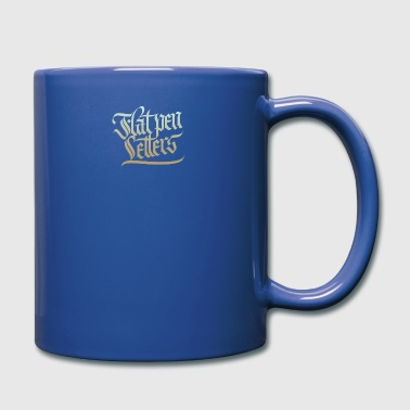 Flat Pen Letters - Full Color Mug