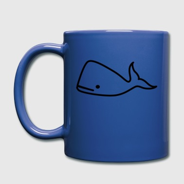 whale - Full Color Mug