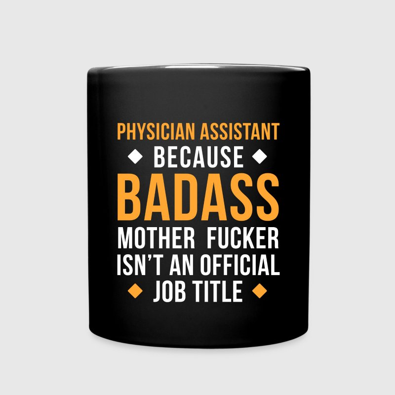 Physician Assistant Badass Professions T Shirt - Full Color Mug