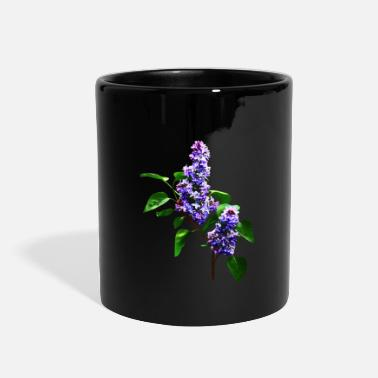 Lilac Spray of Lilacs - Full Color Mug