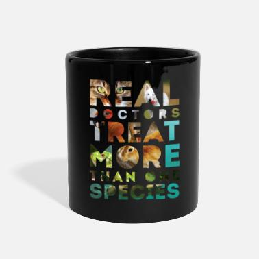 Doctors Real doctors treat more than one species - Full Color Mug