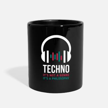 Philosophy Techno it's a philosophy - Full Color Mug
